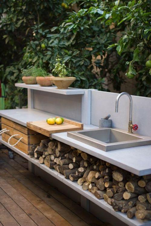 id es pour cuisine ext rieure la terrasse ou dans le. Black Bedroom Furniture Sets. Home Design Ideas