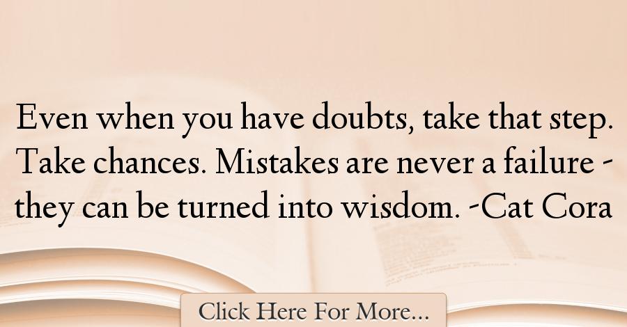 Cat Cora Quotes About Wisdom - 73192