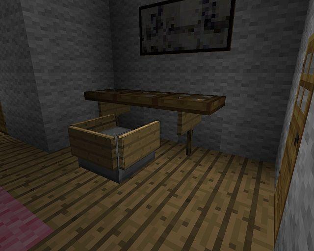 Minecraft Furniture Desks Minecraft Furniture Minecraft Minecraft Bedroom