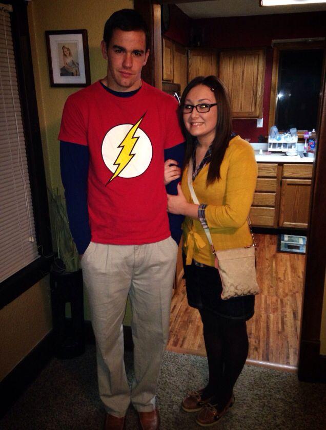 Sheldon Cooper and Amy Farrah Fowler