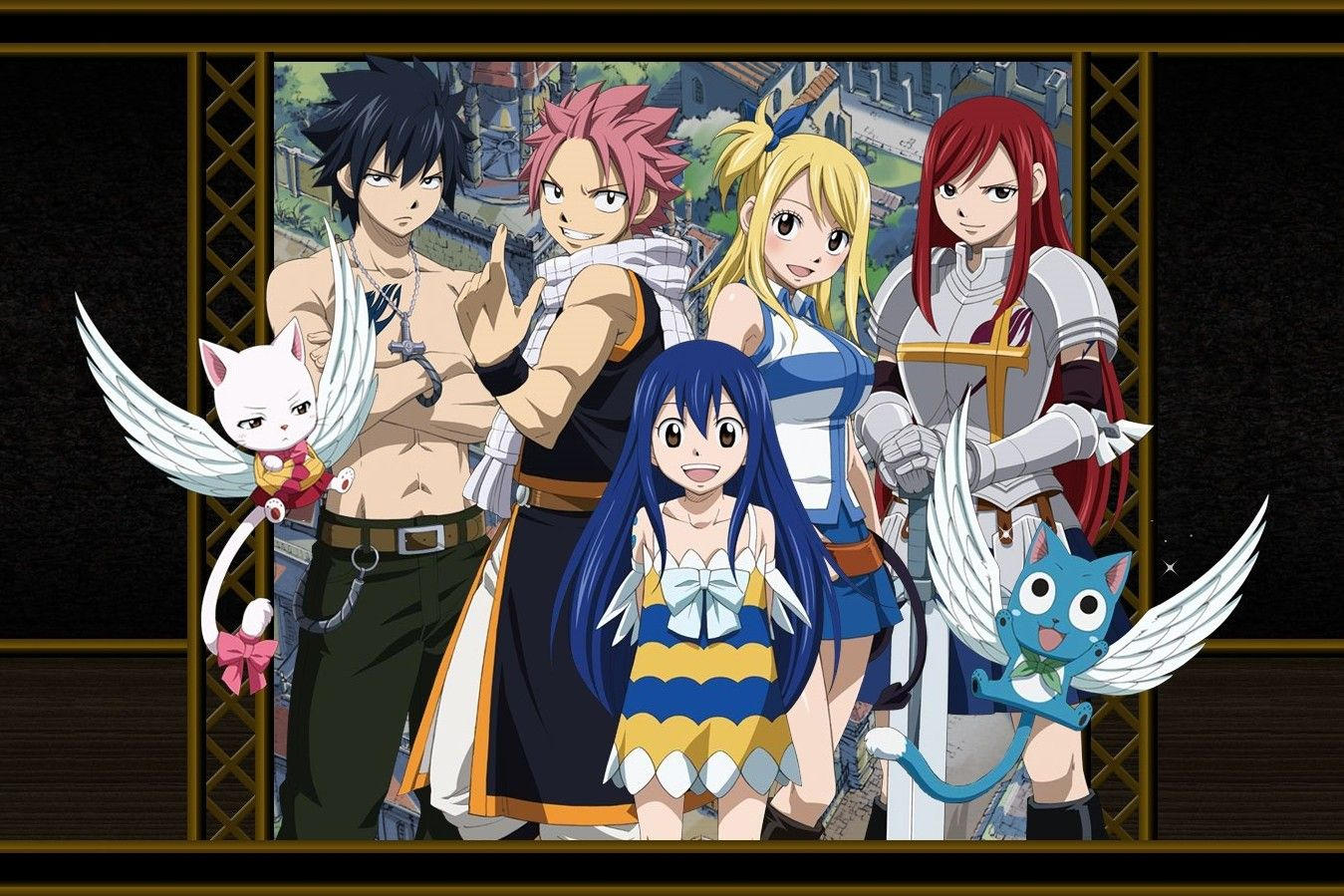 Fairy Tail Wallpaper For Mac Download Fanarts Wallpaper For Fairy Tail And Enjoy It On Your Iphon Fairy Tail Anime Fairy Tail Wallpapers Fairy Tail Characters