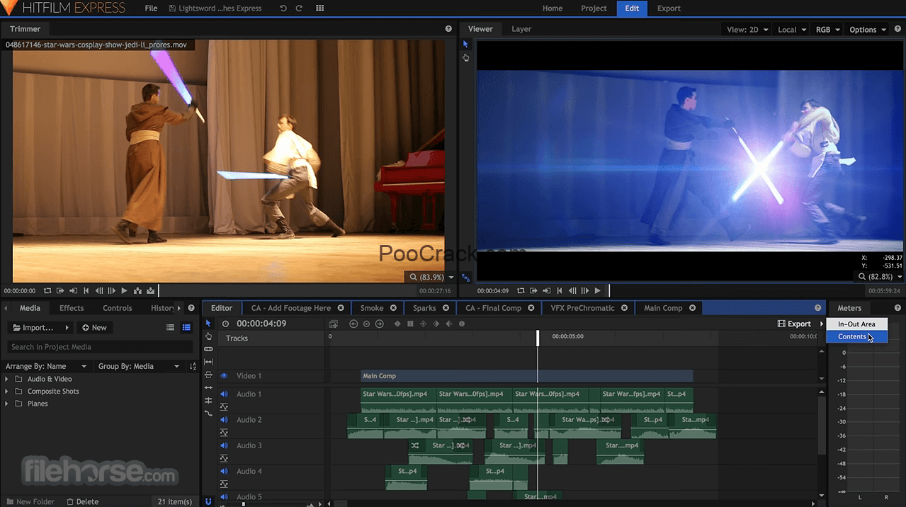 HitFilm Pro 12 2 8707 07201 Crack Pro With License Key 2019