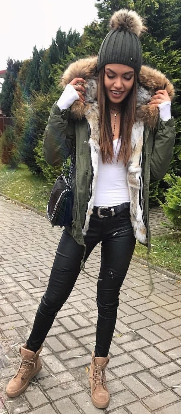 58 Simple Outfits School for Winter # ...