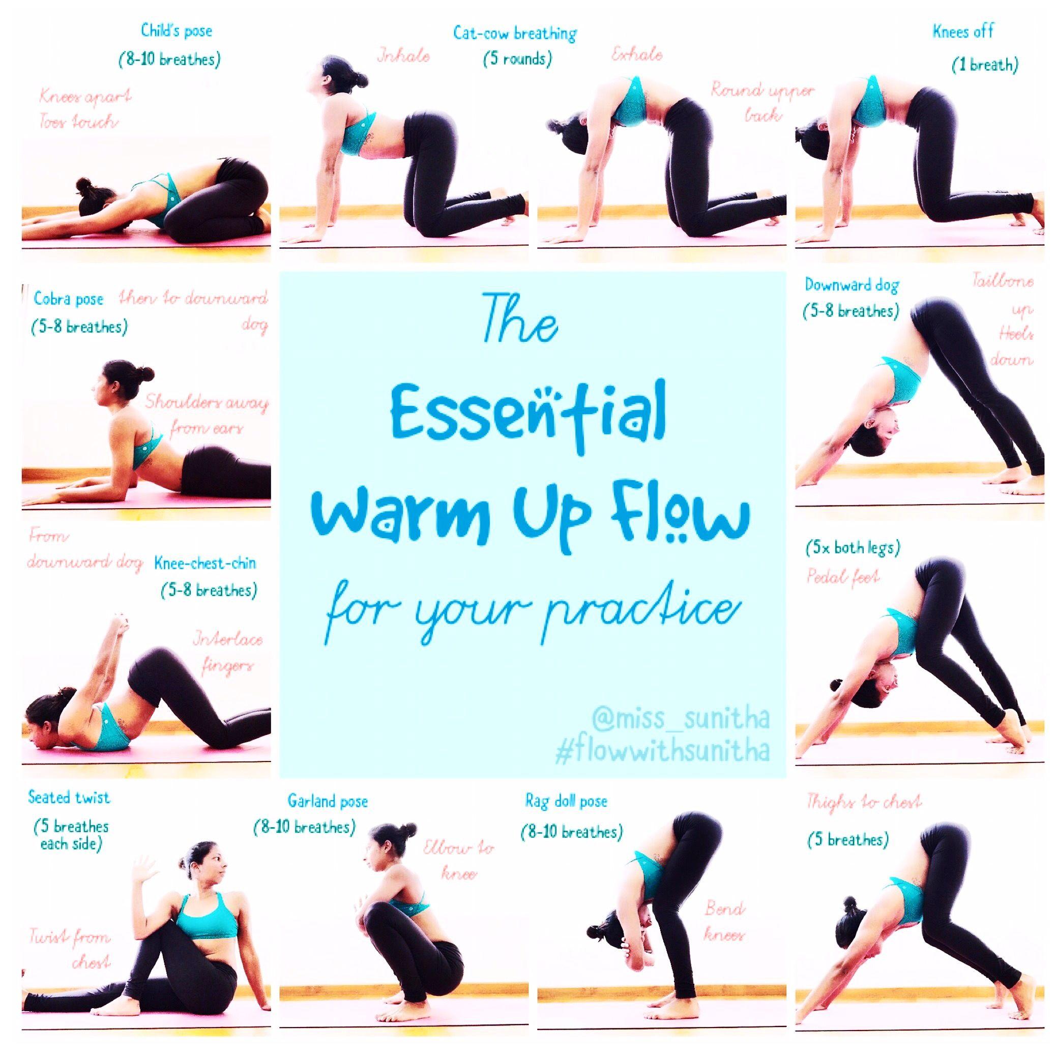 Hatha Yoga Warm Up Poses