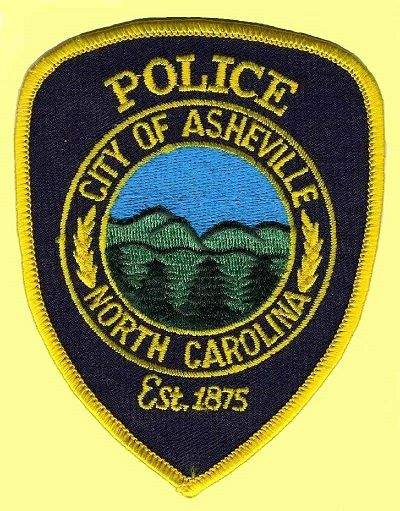 Asheville Pd Nc Police Patches Police Police Badge