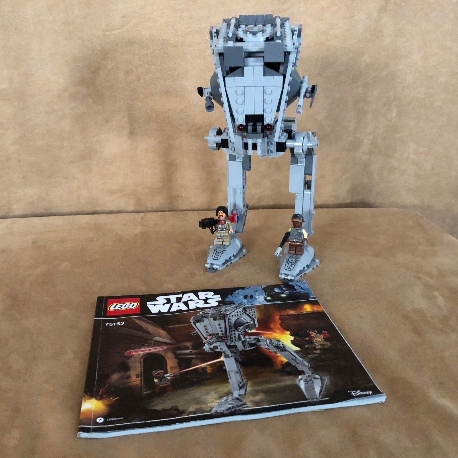 75153 Lego Complete Star Wars At St Walker Ship Instructions
