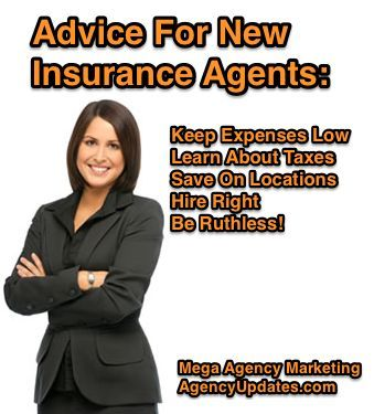 Advice For New Insurance Agents Keep Expenses Low Insurance