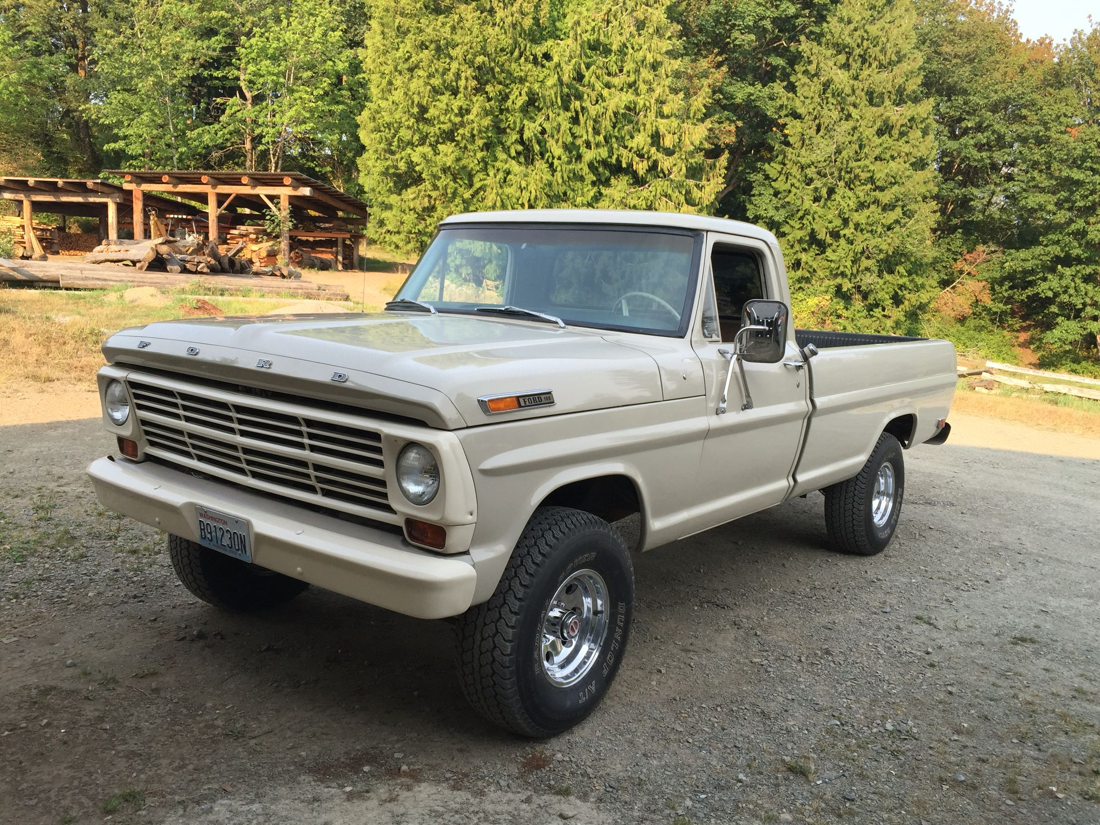 1968 ford f100 4x4 300 straight six
