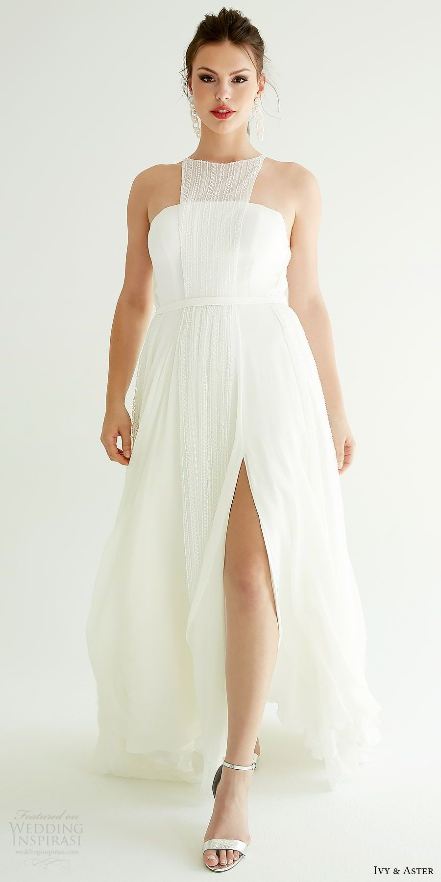 Ivy Aster Spring 2019 Wedding Dresses Ixa Revolution Bridal Collection Wedding Inspirasi Wedding Dresses Dresses White Wedding Gowns [ 1800 x 900 Pixel ]