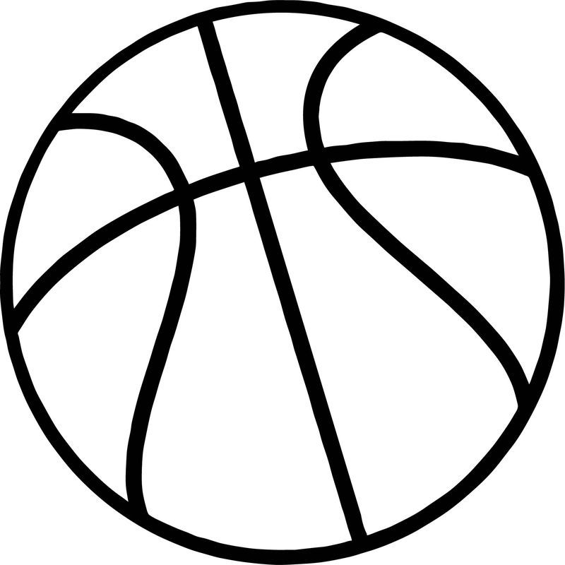 - Just Basketball Ball Coloring Page In 2020 Coloring Pages, Sports Coloring  Pages, Ball Drawing