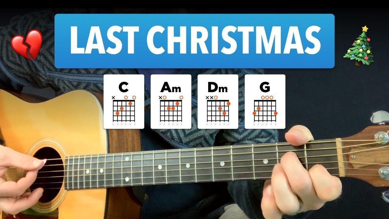 Last Christmas Guitar Lesson W Easy Chords Tabs Youtube Guitar Lessons Guitar Easy Guitar Songs
