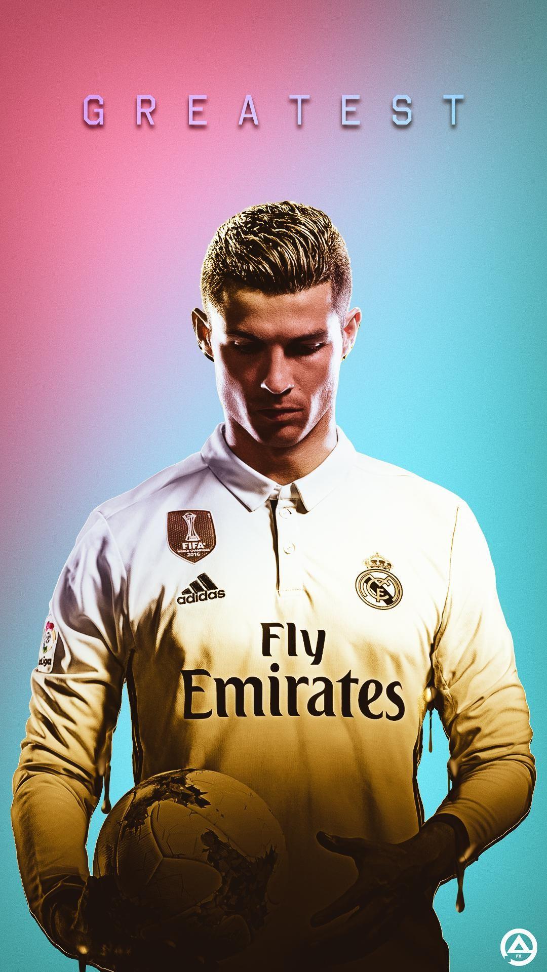 Lock Screen Real Madrid Wallpaper Iphone Hd Football In 2020 Cristiano Ronaldo Real Madrid Logo Wallpapers Real Madrid Wallpapers