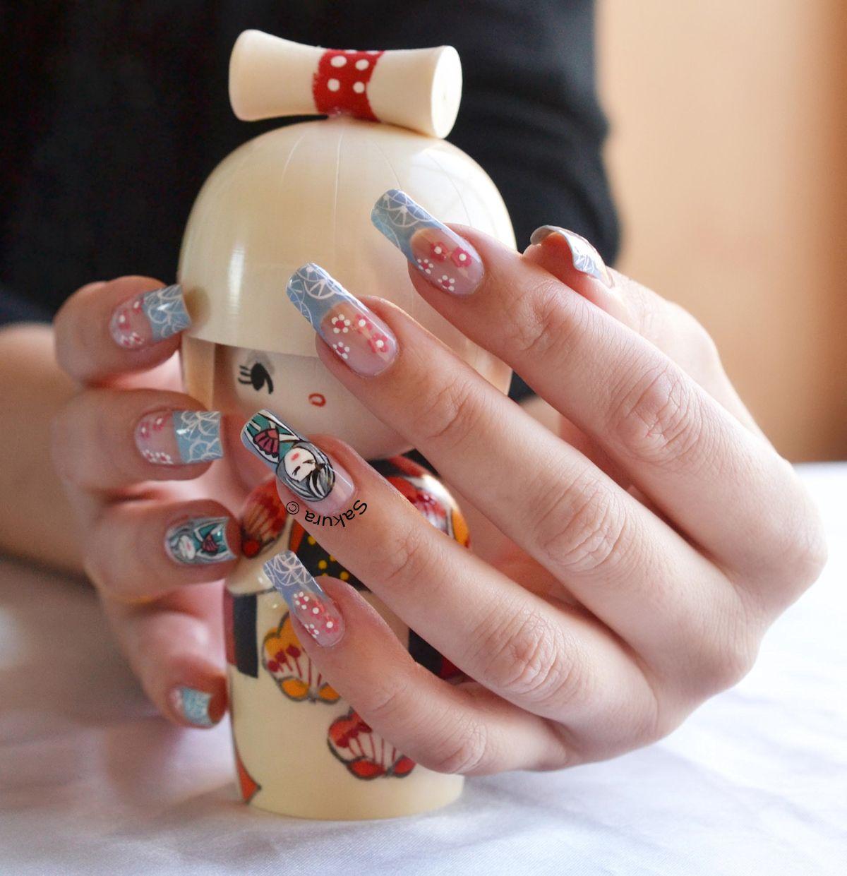 Deco Nail Art Nail Art Kimmidoll | Japan | Pinterest | Art nails