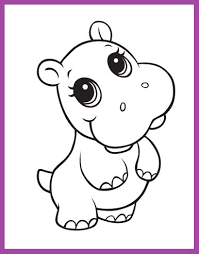Resultado De Imagen Para Dibujos Faciles Para Dibujar Cute Baby Cow Cute Animal Drawings Zoo Animal Coloring Pages