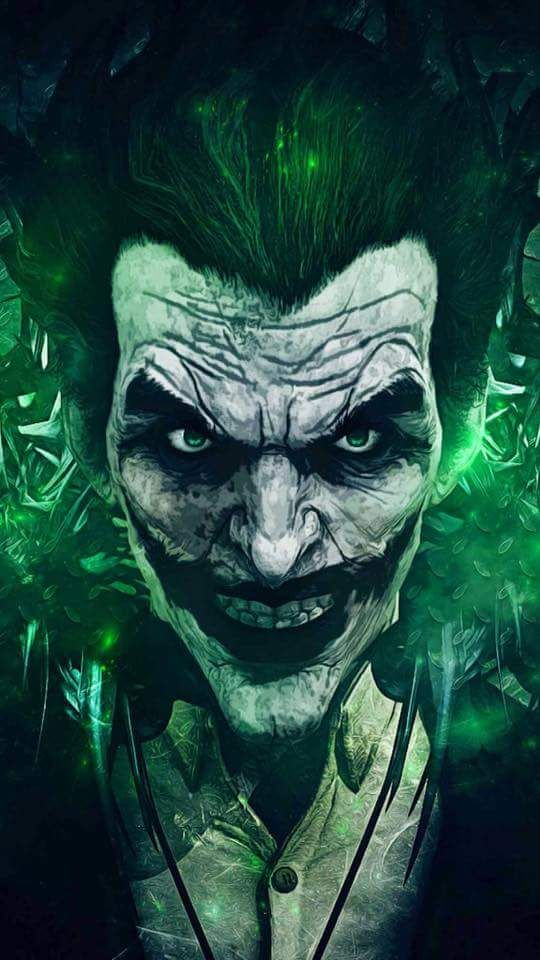 DC Comic Book Artwork • The Joker. Follow us for more