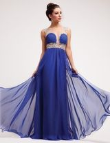 Royal Blue Prom Dress Royal Blue Cocktail Dress Blue Bridesmaid Gown