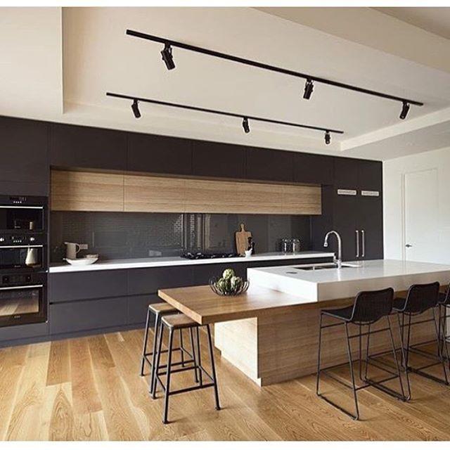 Anthracite grey + light oak  #casaandresort #amazingkitchens #perfectdesign