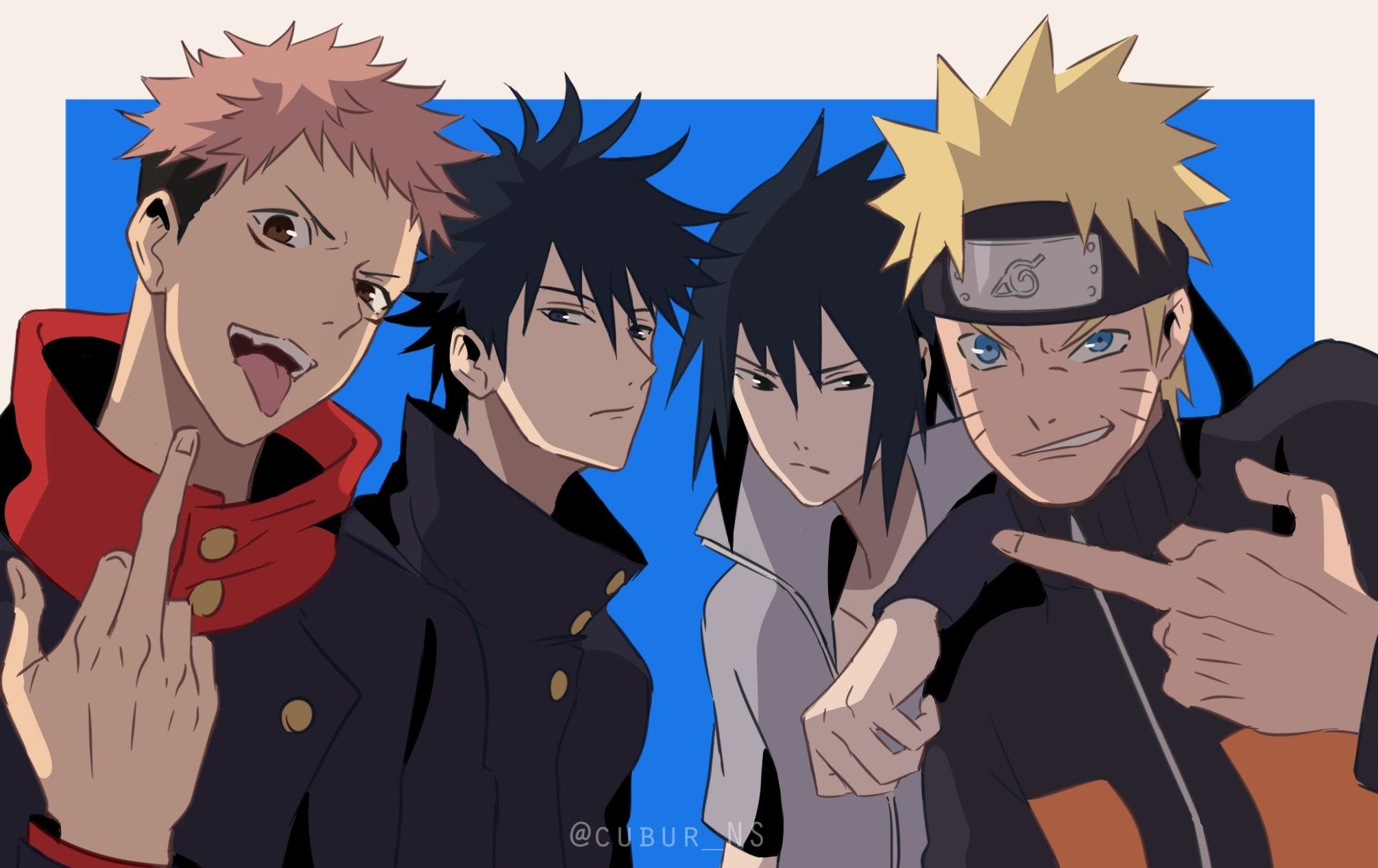 Photo of   Save & Follow   Jujutsu Kaisen • Naruto Shippuden
