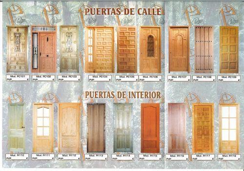 Catalogos puertas de madera caballero calavera Pinterest - puertas de madera para bao