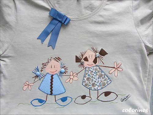 camiseta niñas | Flickr: Intercambio de fotos