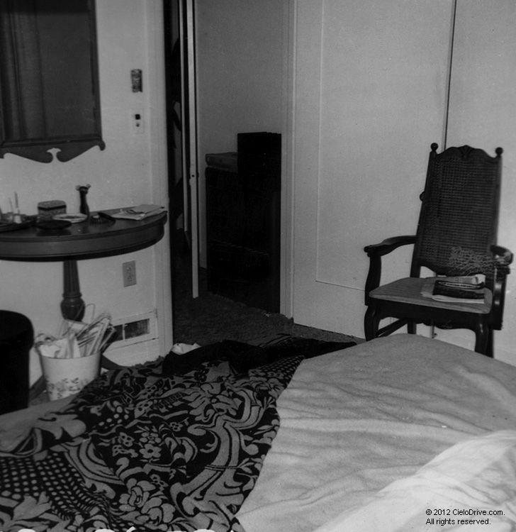 A Photo Of The LaBianca Bedroom From Where The Body Of