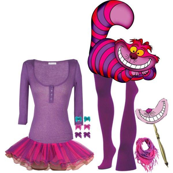Costume Cheshire Cat Fantasias Looks E Look