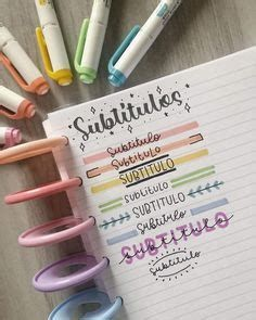 Titles | Bullet Journal Lettering Ideas, Bullet Jo