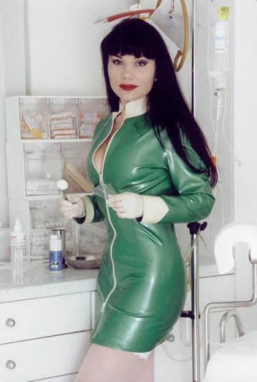 Excited Latex slave doctor doctor remarkable