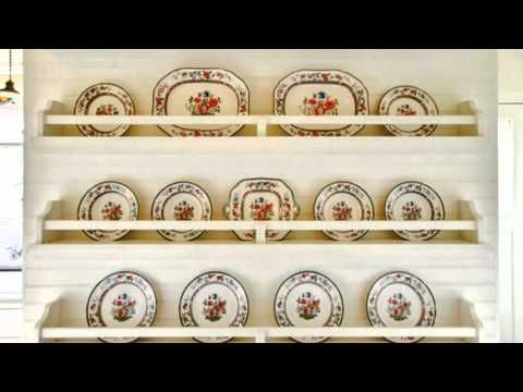 Plate Racks - Great Small Space Ideas