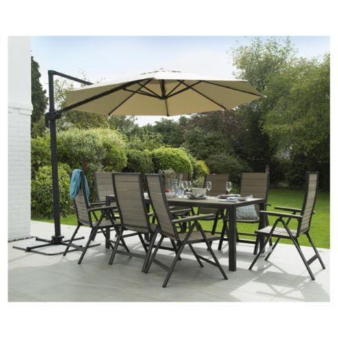 Coastal 8-seater Aluminium Rectangular Garden Table | garden ...