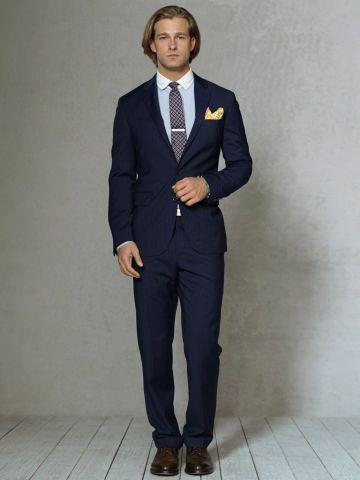 db1cf69b308b3b Custom-Fit Chalk-Striped Suit - Polo Ralph Lauren Suits - RalphLauren.com