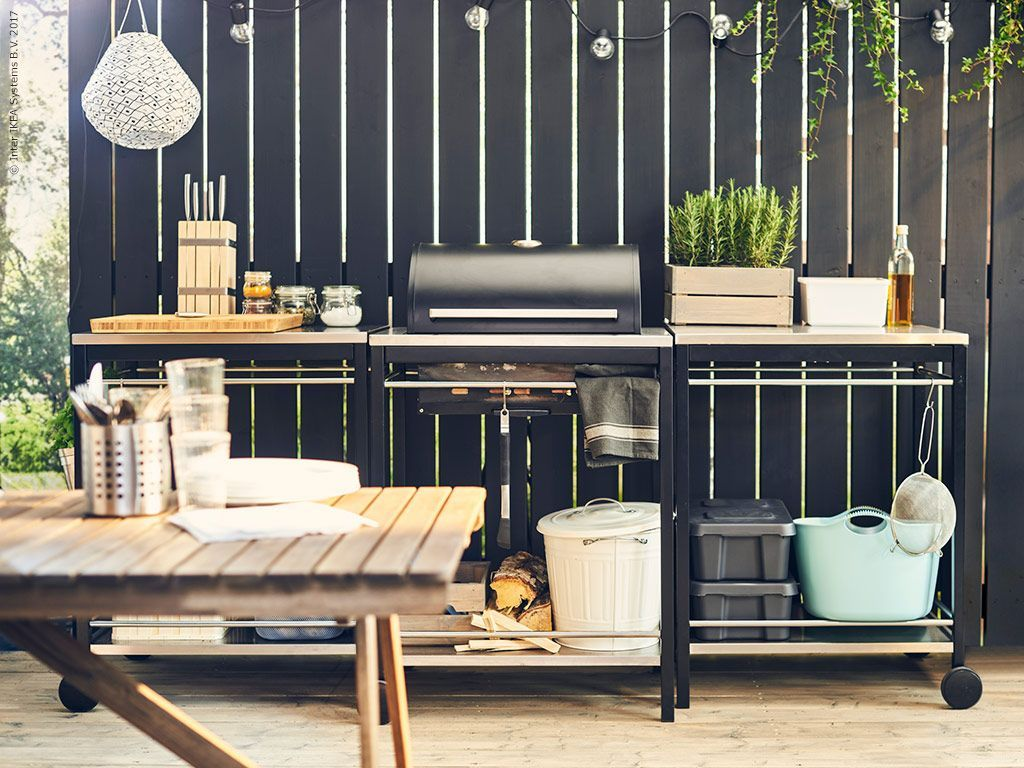 KLASEN fixar sommarköket (IKEA Sverige Livet Hemma