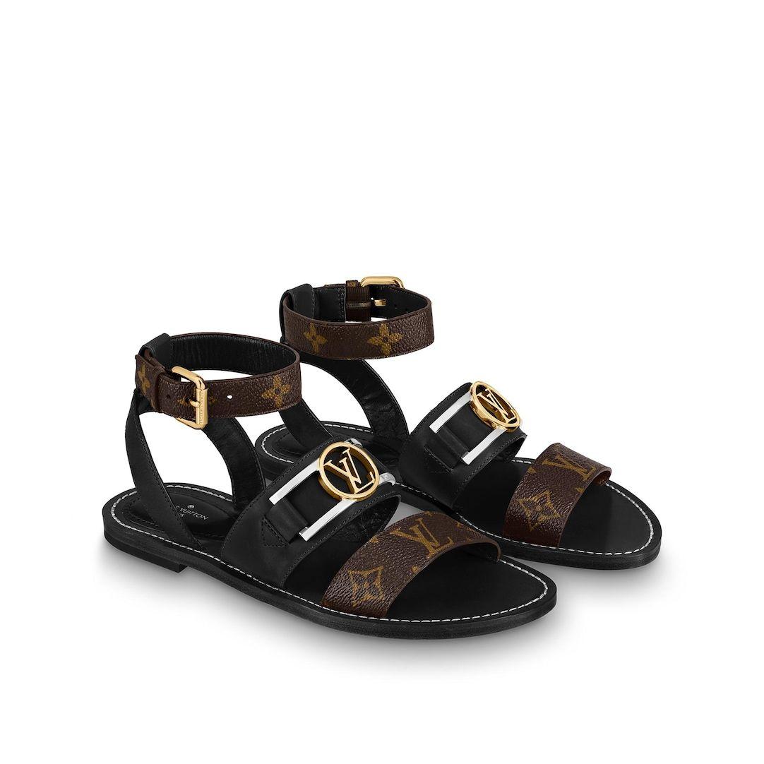 Academy Flat Sandals Shoes Louis Vuitton Louis Vuitton Shoes Heels Louis Vuitton Heels Flat Sandals