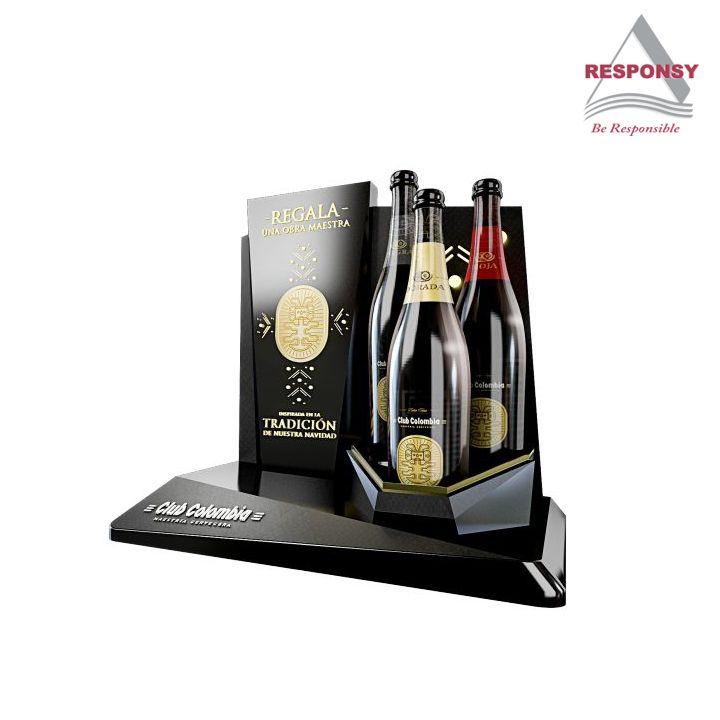 3b521f895 Custom retail display counter wine display rack for wine store 1. Use  acrylic/wood