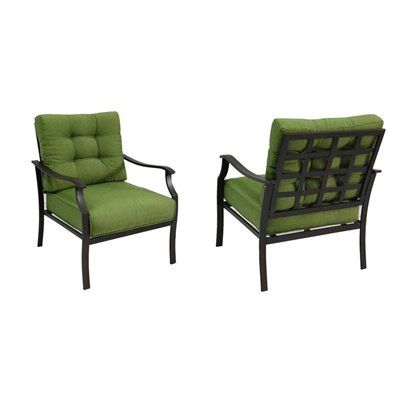 Eastmoreland Patio Lounge Chairs Set Of 2 Rust Resistant Steel