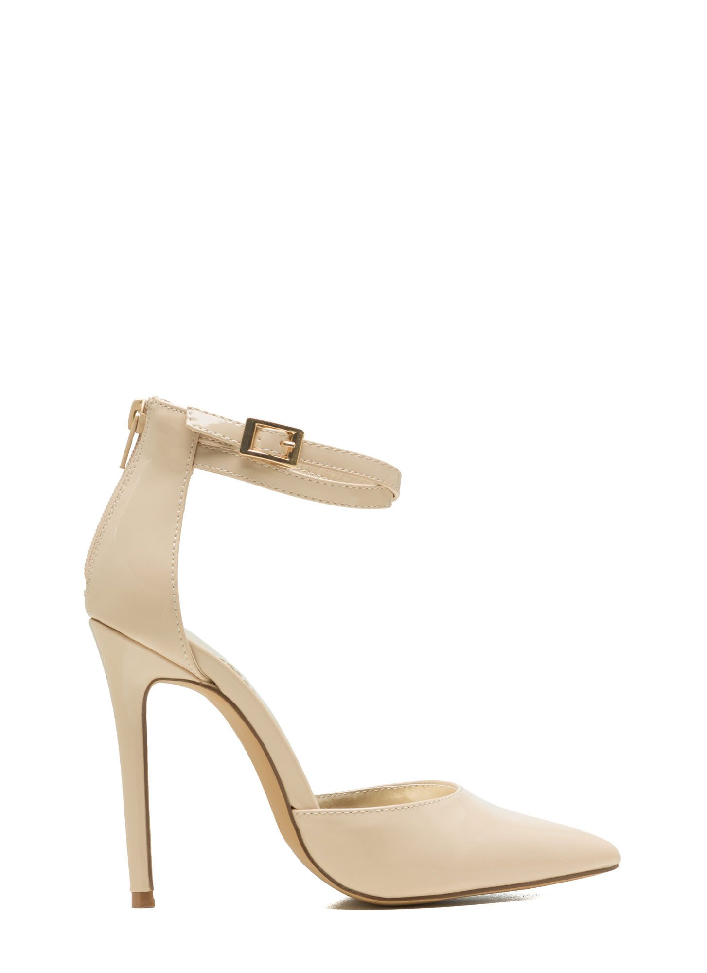 b15ee2493a On Point Strappy Buckled Heels NUDE | | Shoes | | Cheap juniors ...