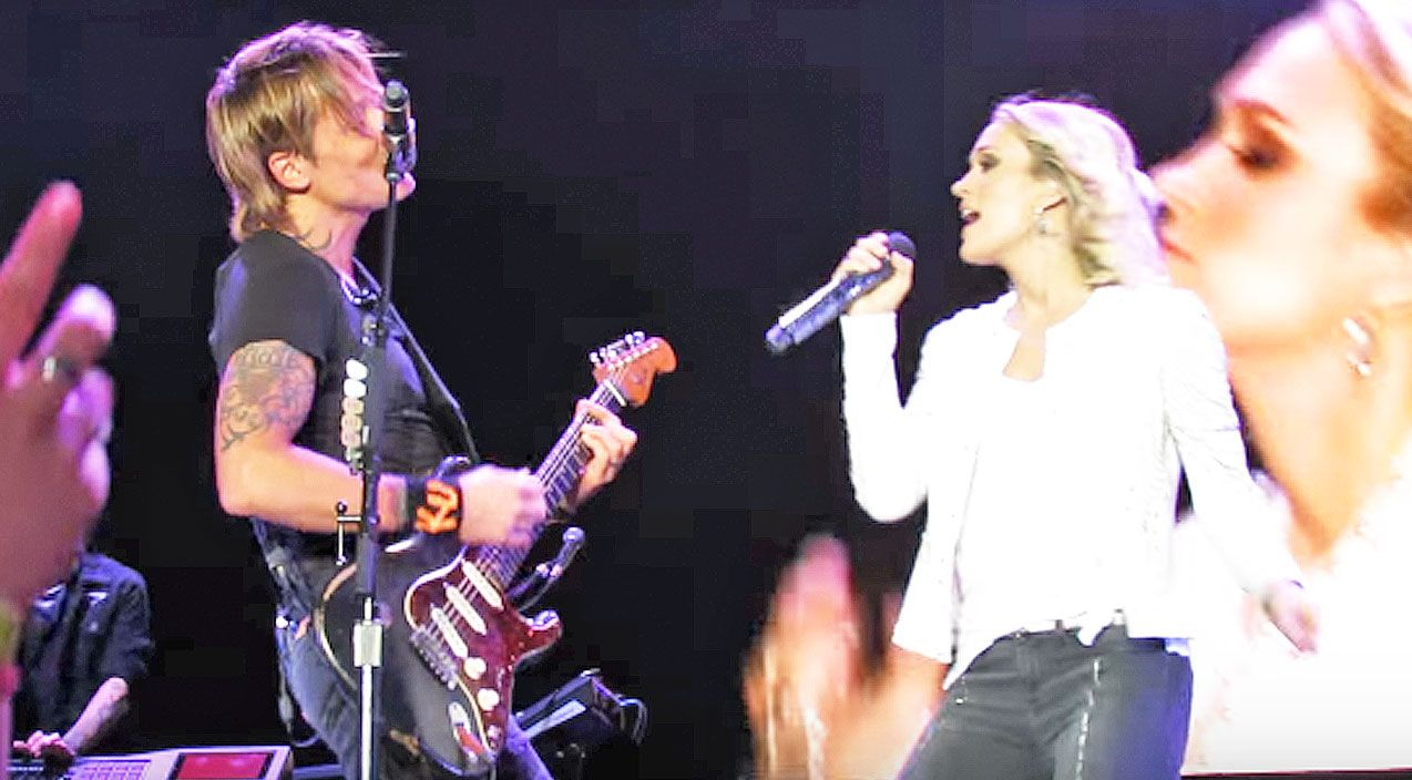 For The First Time Ever, Keith Urban And Carrie Underwood