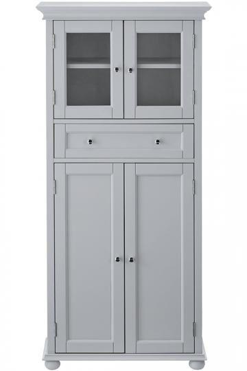 Hampton Bay 1 Drawer Tall Cabinet Linen Cabinets Bathroom Bath Homedecorators