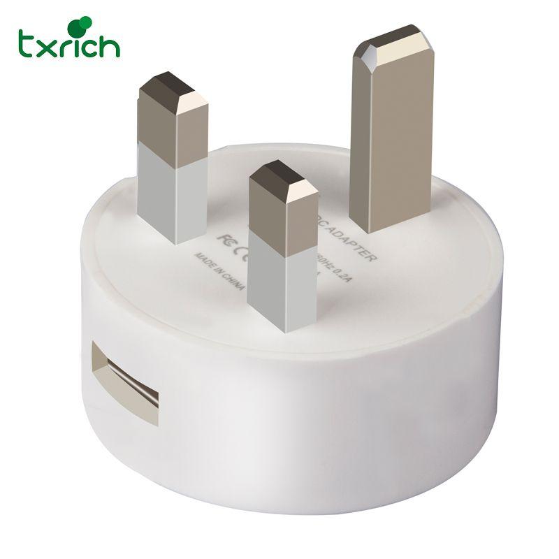 USB Charger 5V1A 5V2A Travel Wall