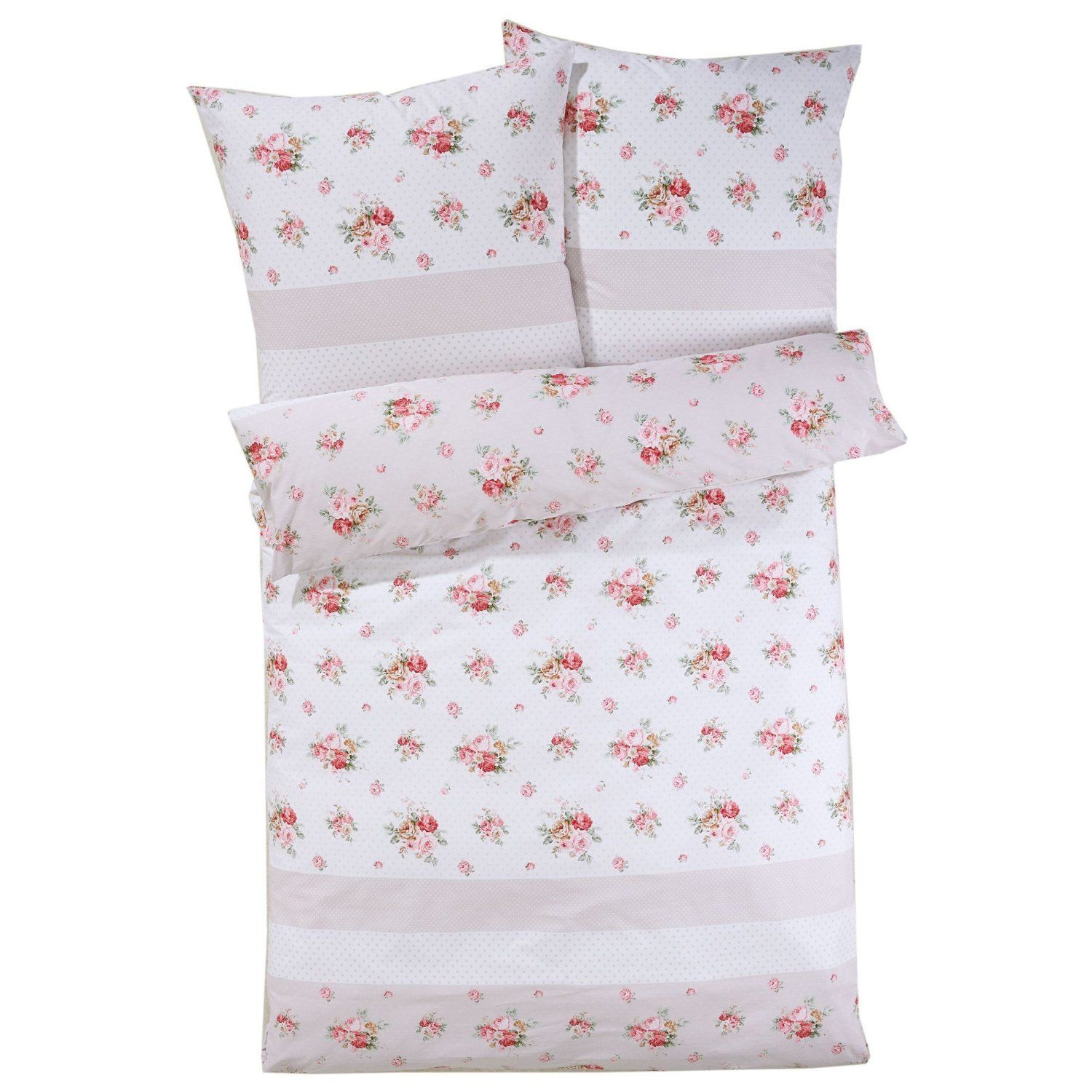 Bettwäsche Rosen Mit Reißverschluss 100 Baumwoll Satin Rosa 135 X 200 Cm Amazon De Küche Haushalt Bedding Sets Kid Beds Girls Bedroom