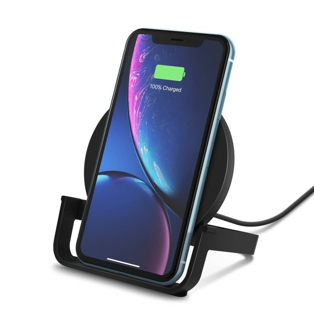 Belkin BOOSTUP 10W Qi Wireless Charging Stand - Black ...