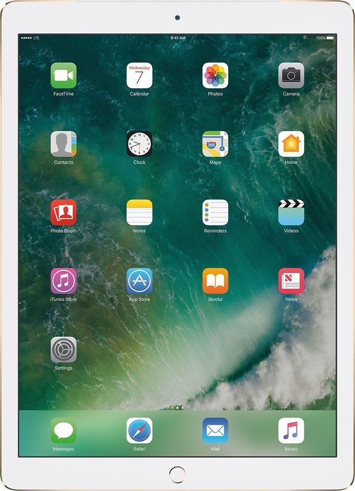 Apple 12 9 Inch Ipad Pro With Wi Fi Cellular 128 Gb Verizon Wireless Gold Apple Ipad Ipad Mini Ipad Pro