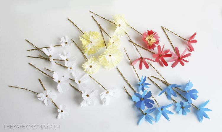 Contemporary tiny paper flowers ornament best evening gown how to make tiny paper flowers choice image flower decoration ideas mightylinksfo
