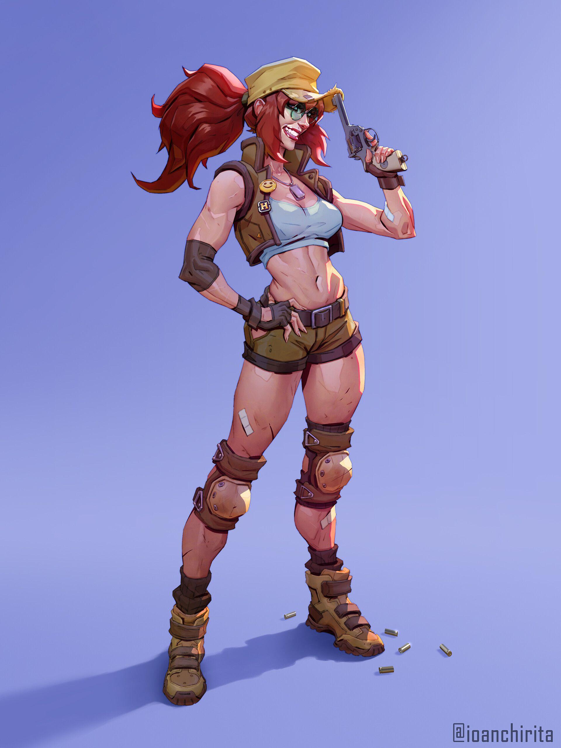 Artstation Fiolina Germi Ioan Chirita Concept Art Characters Anime Fantasy Character Design