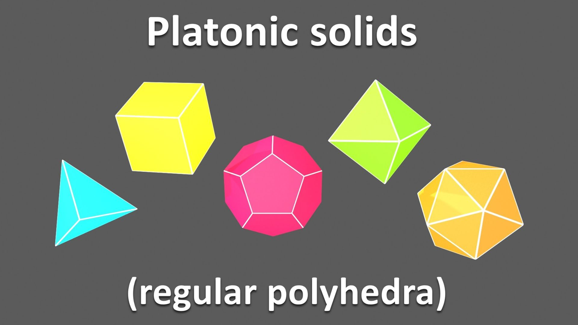3d Shapes For Kids Children To Learn Platonic Solids Regular Polyhedr 3d Shapes For Kids Shapes For Kids 3d Shapes [ 1080 x 1920 Pixel ]