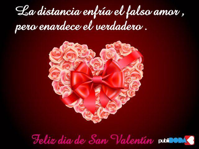 Imagenes   Tarjetas De San Valentin Con Frases   Valentines Day Special  Quotes   Pinterest