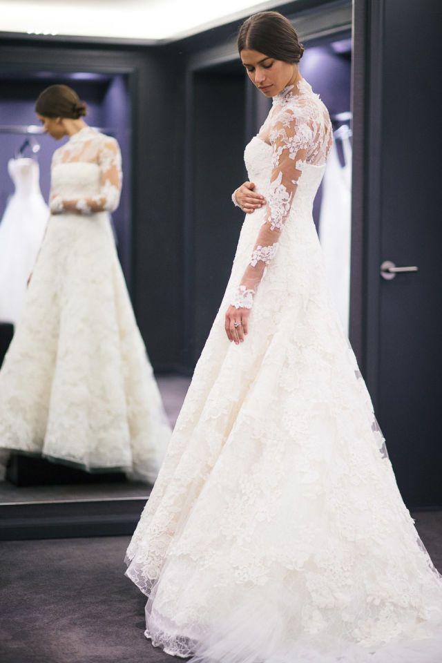 Amanda Weiners Final Wedding Gown Fitting