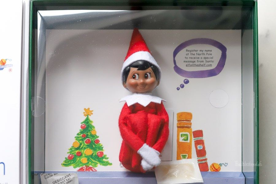 Where can I find a black Elf on the Shelf doll? Elf on
