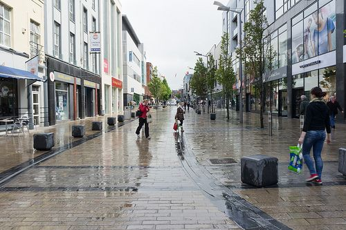 A Wet Day In Limerick City Limerick Ireland Limerick City Ireland In Spring Republic Of Ireland