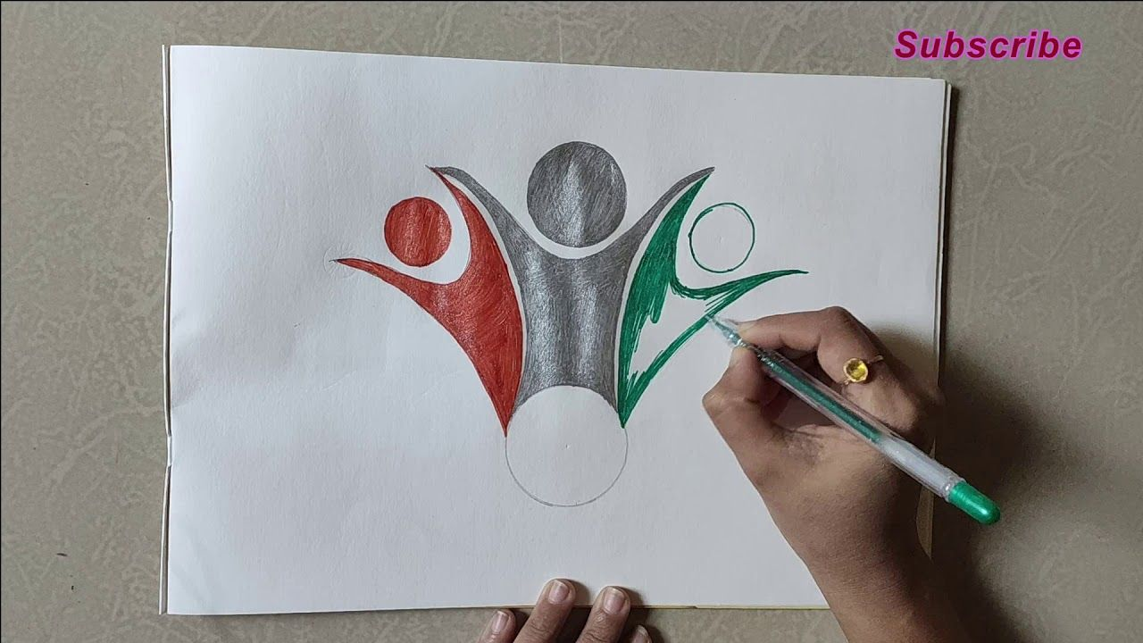 republic day unity drawing | flag drawing | independence ...